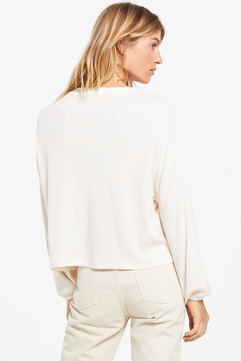 Z Supply Annie Ribbed Top