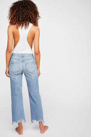 Free People Maggie Mid Rise Jeans