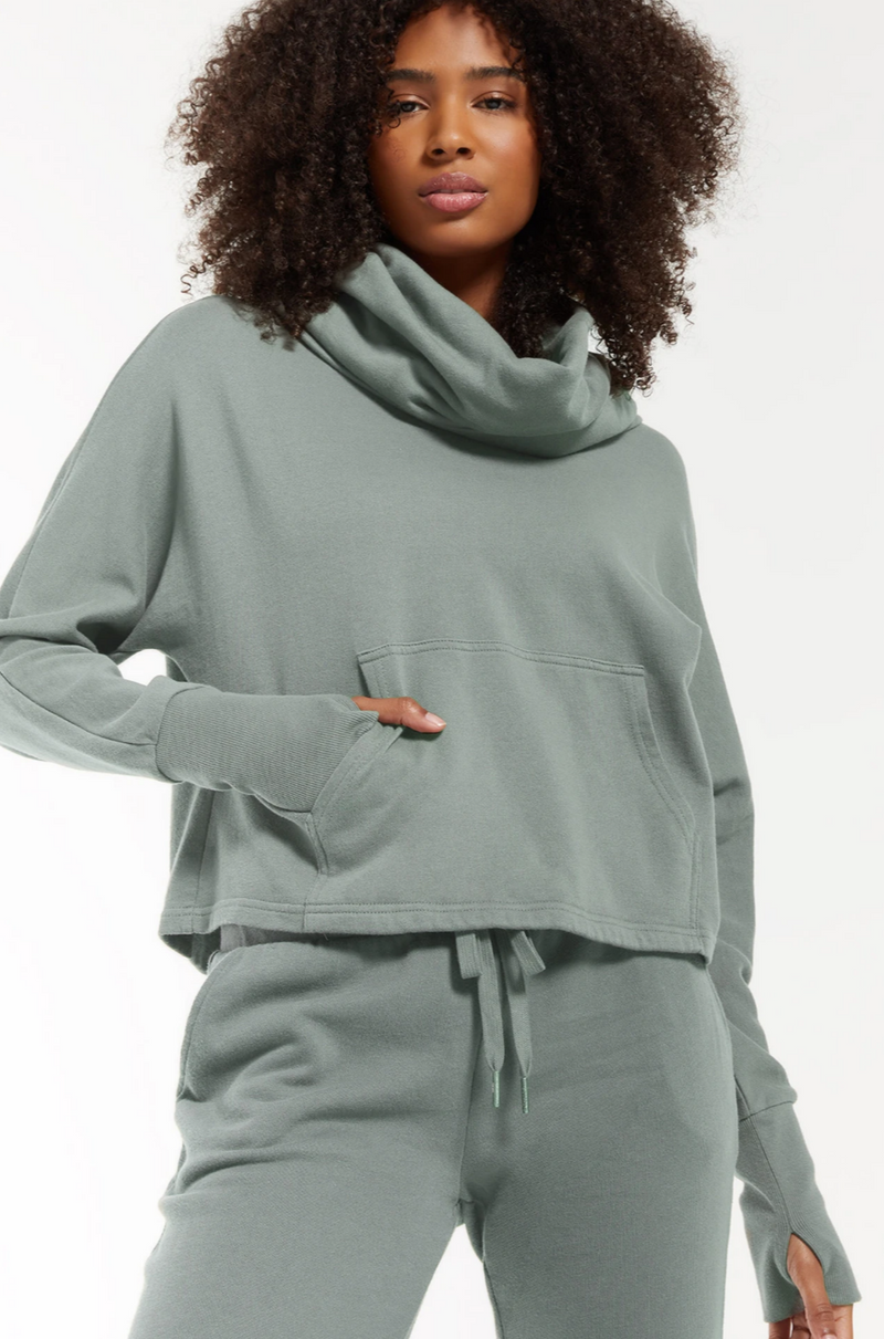 Z Supply Easy Cowl Top