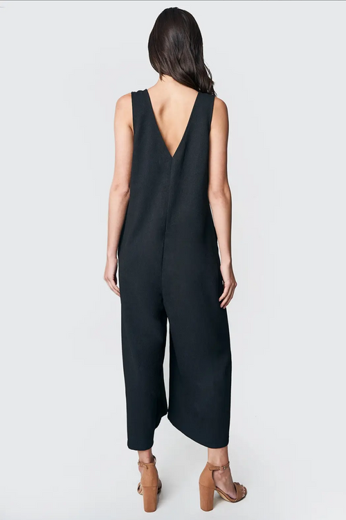 Ruthie Relaxed Button Jumpsuit