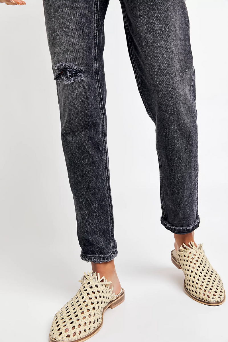 Free People Zuri Mom Jeans
