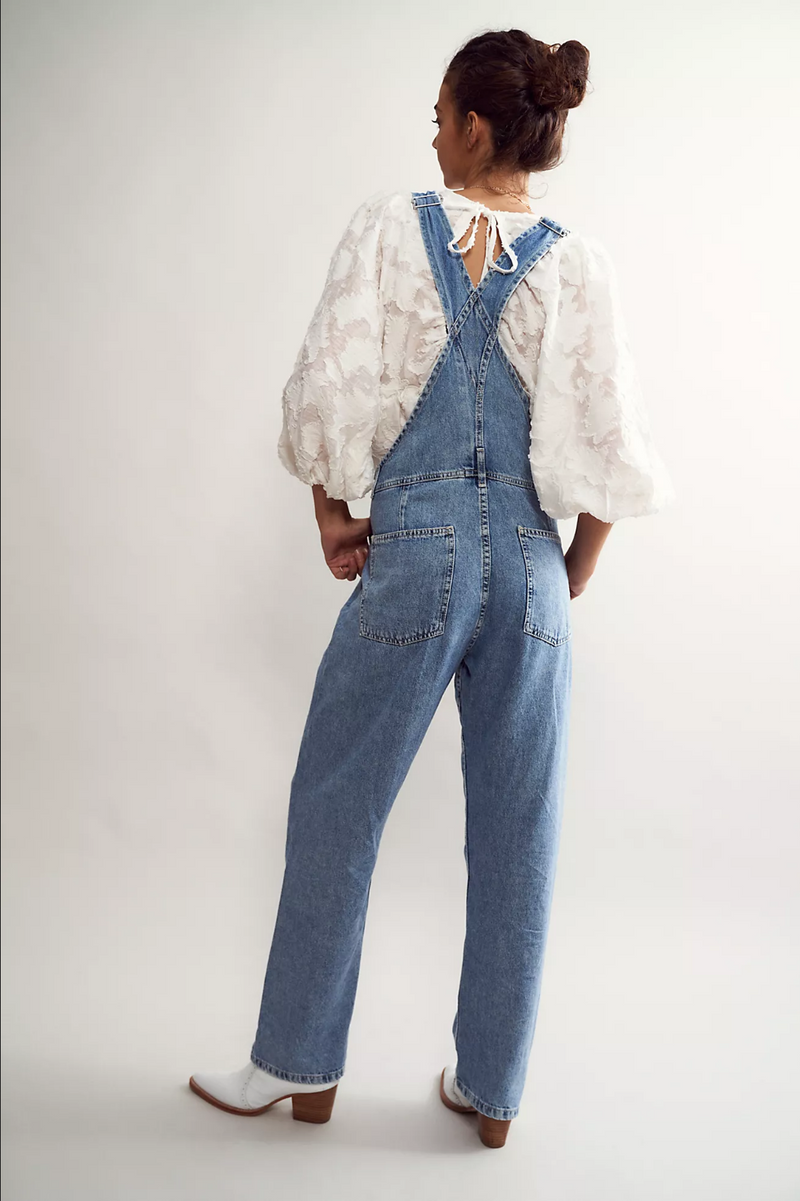 Free People Ziggy Denim Overalls