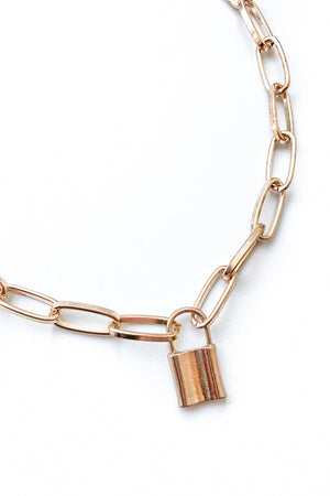 Locked Up Necklace