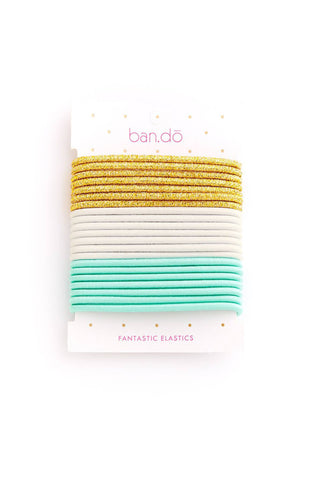 Ban.do Fantastic Elastics - Gold/White/Mermaid