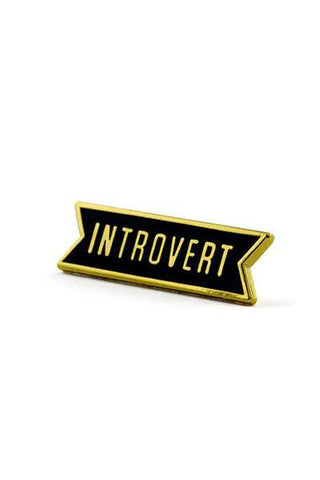 These Are Things Pin - Introvert