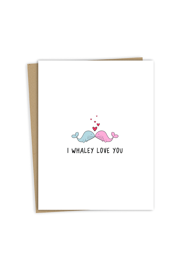 Rockdoodles Whaley Love Card