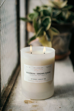 Sydney Hale Co.  Bourbon + Brown Sugar Candle