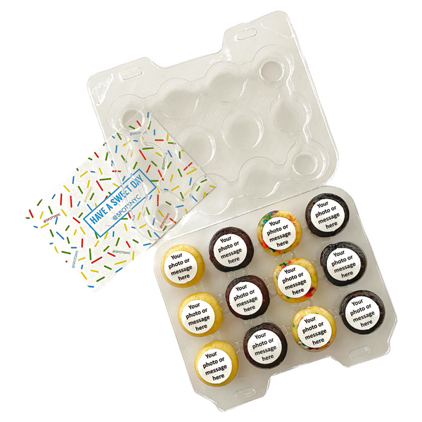 Mini Cupcakes - 12 Packs (Min. 2 Dozen)