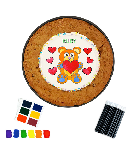 Paint Your Own Cookie Cake