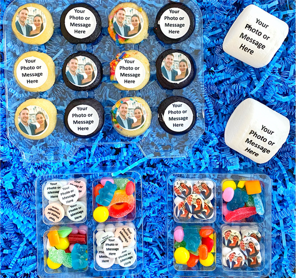 Mini Variety Pack (Mini Candy Grams, Mini Cupcakes, Marshmallows)