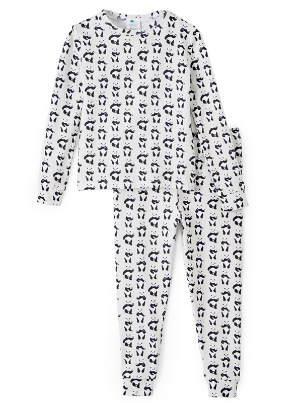 Two Piece Pajama Set - Dancing Panda