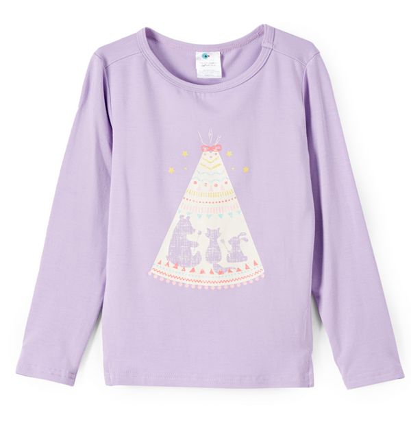 Boat Neck Shirt | Tee Pee Purple