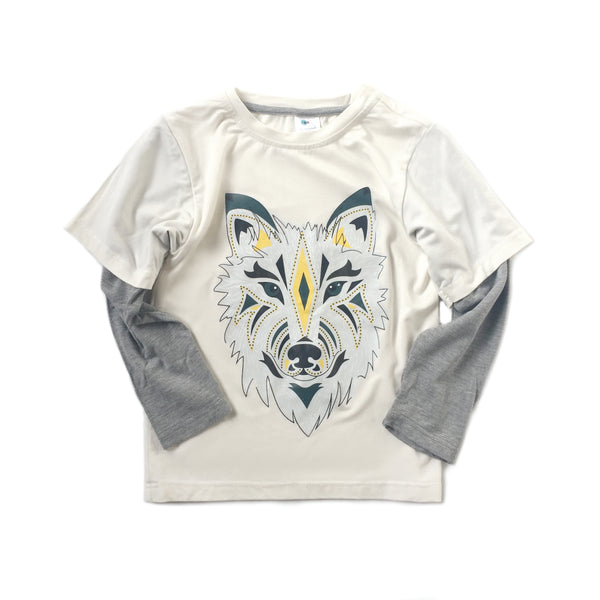Long Sleeved Shirt - Wolf