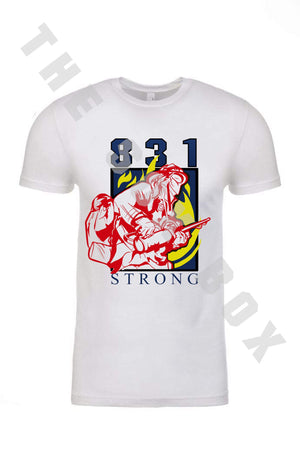 831 Strong Fire Relief Fund Shirt (Female FF) - LIMITED EDITION