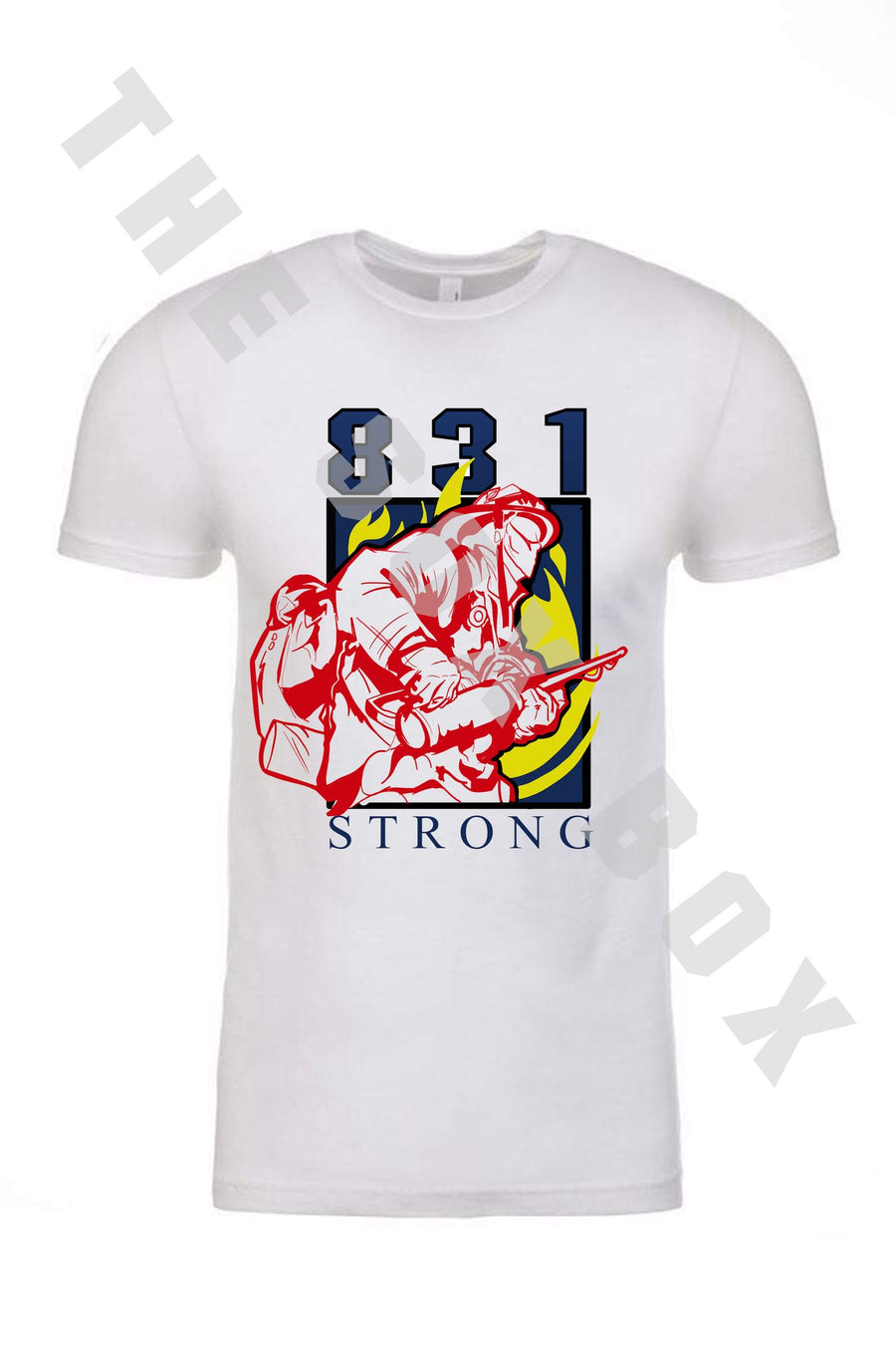 831 Strong Fire Relief Fund Shirt (Male FF) - LIMITED EDITION