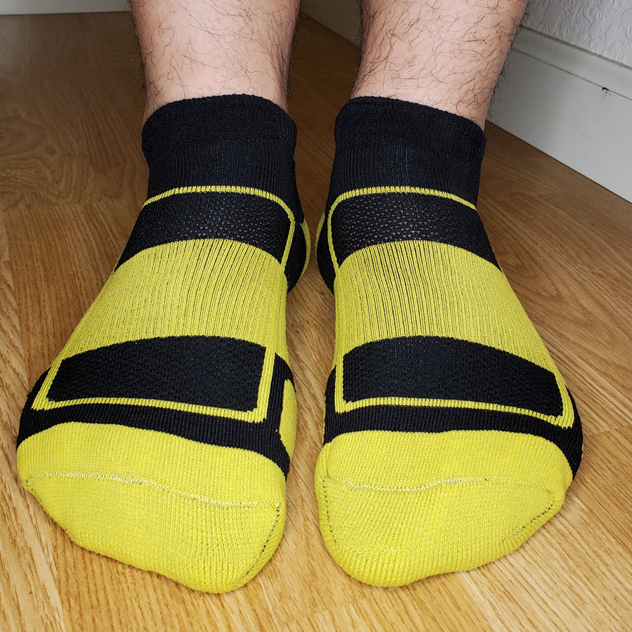 Performance Footie Sox - Yellow
