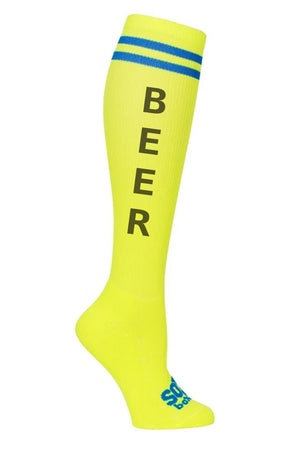 Beer Fun Novelty Knee High Socks- The Sox Box