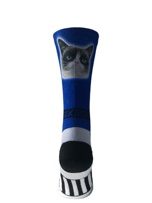 Novelty Custom Big Human Head Socks - The Sox Box