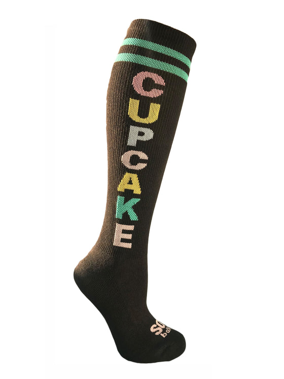 Cupcake Women's Multi Knee High Socks - The Sox Box