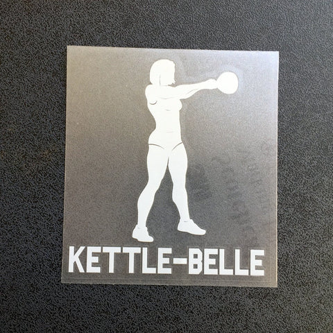 Kettle-belle (Woman) Decal