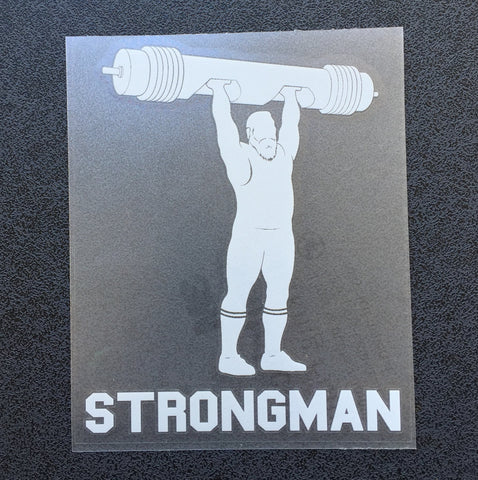 Strongman Log (Man) Decal