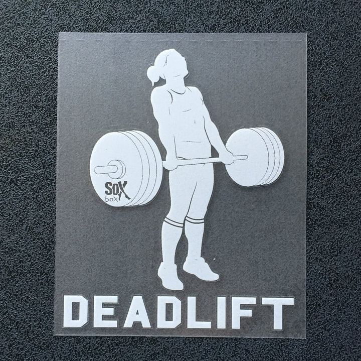 Deadlift (Woman) Decal