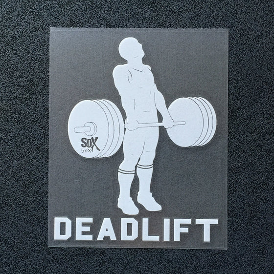 Deadlift (Man) Decal