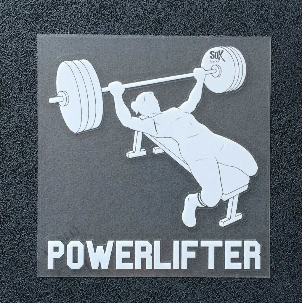 Powerlifter (Woman Bench) Decal