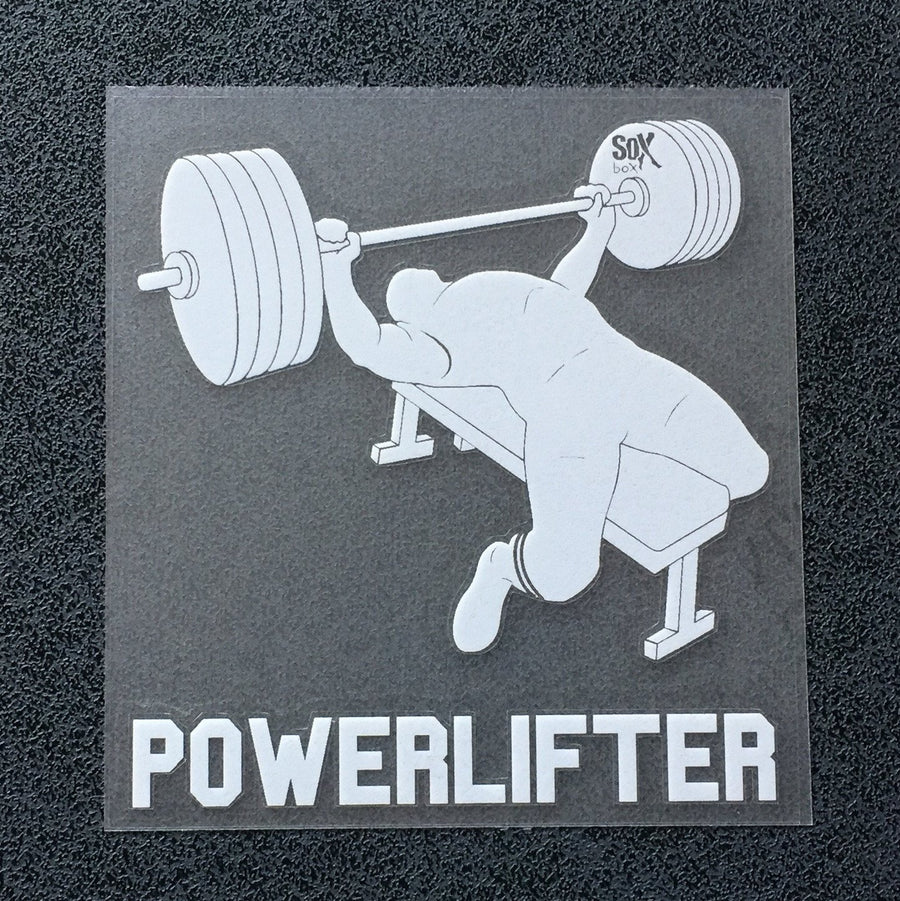 Powerlifter (Man Bench) Decal