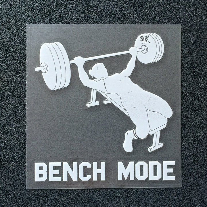 Bench Mode (Woman) Decal