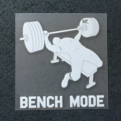 Bench Mode (Man) Decal