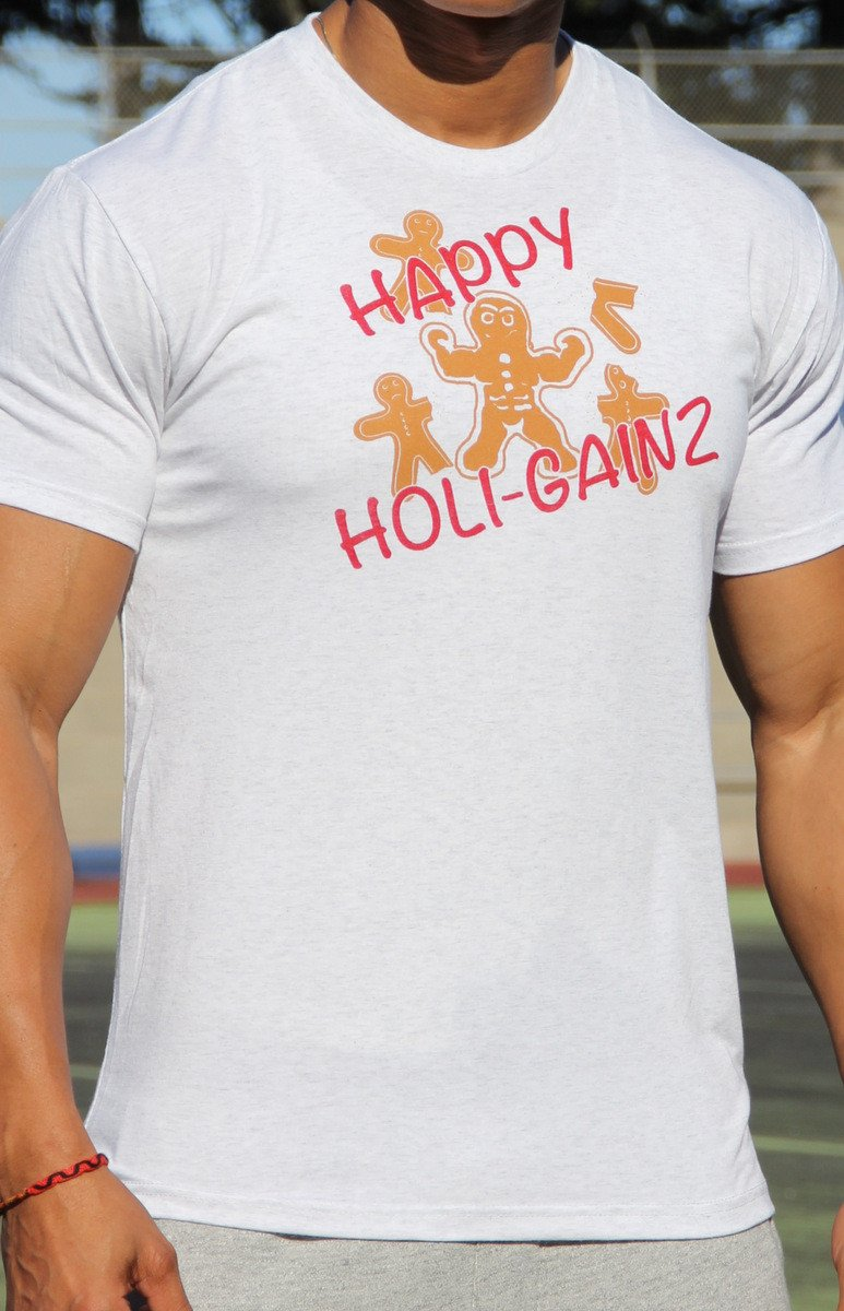 Happy Holigainz Men's Workout Triblend Shirt- The Sox Box