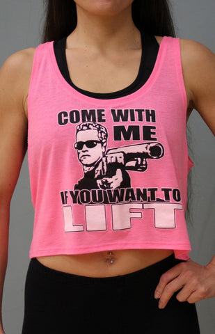 Come With Me Crop Top