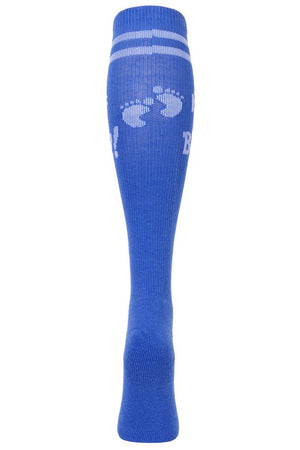 It's a Boy Baby Blue Athletic Knee High Socks- The Sox Box