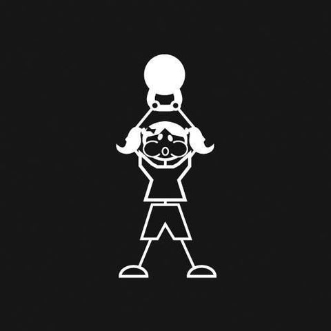 Kettlebell (Girl) Decal