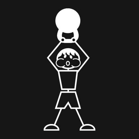Kettlebell (Man) Decal
