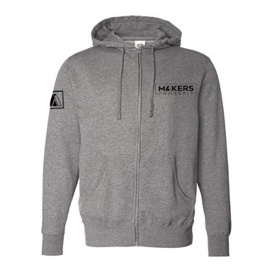Makers CrossFit Zip-Up Hooded Sweatshirt- The Sox Box