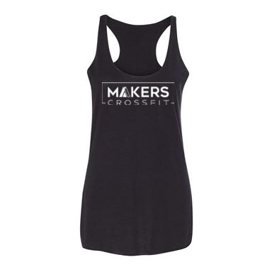 Makers CrossFit Women's Workout Racerback Tank- The Sox Box