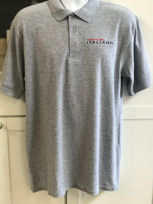Concorso Italiano Men's Grey Polo - The Sox Box