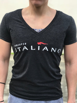 Concorso Italiano Women's V-Neck T-Shirt- The Sox Box