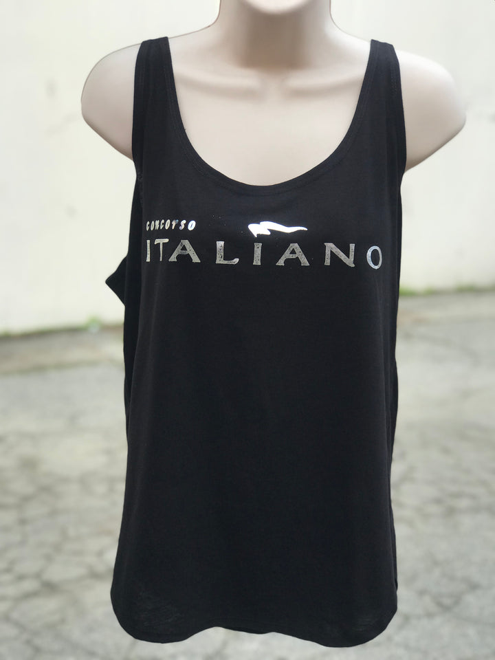 Concorso Italiano Women's Flowy Tank- The Sox Box