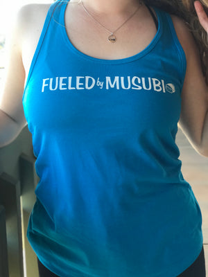 Fueled By Musubi Women's Racerback Tank - The Sox Box