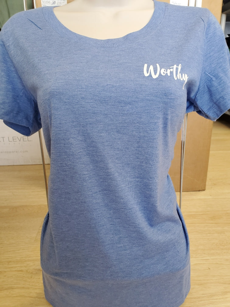 Worthy Inspirational T-Shirt- The Sox Box