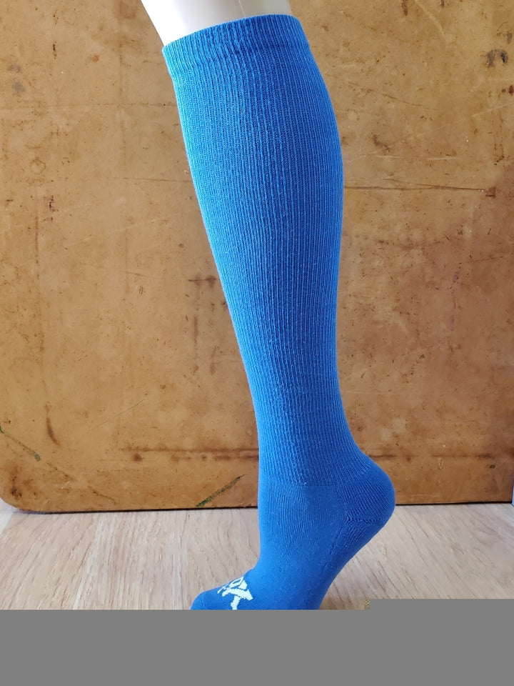 Blue Speechless Athletic Knee High Socks- The Sox Box
