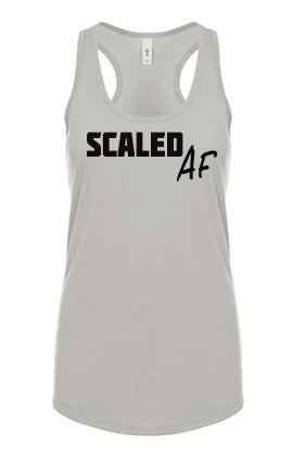 Scaled AF Fitness Racerback Tank - The Sox Box