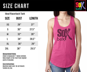 Abs Day Women's Workout Racerback Tank- The Sox Box