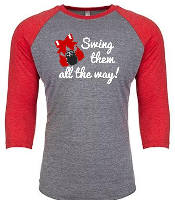 Swing Em Baseball Triblend T-shirt- The Sox Box