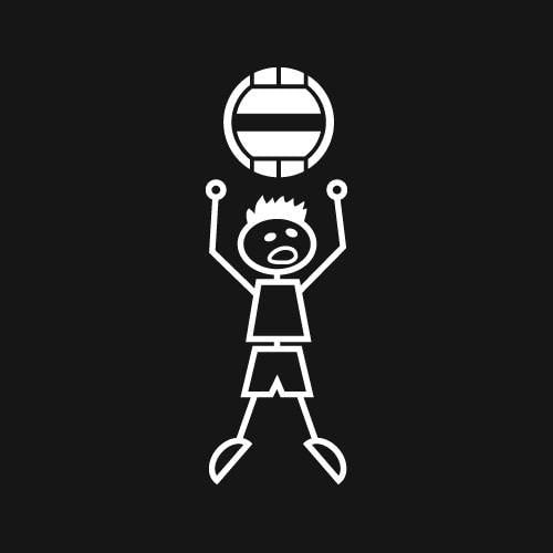 Wall Ball (Boy) Decal