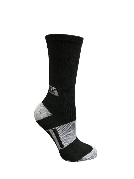 Black Crew Socks- The Sox Box