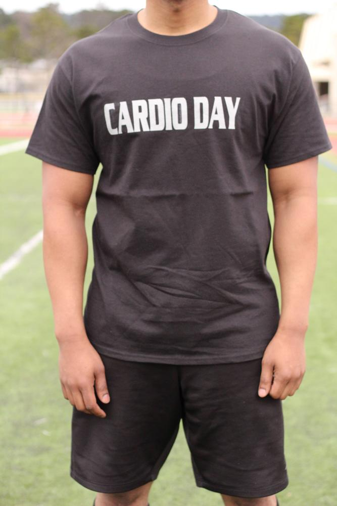 Cardio Day Men's Workout Triblend Shirt - The Sox Box